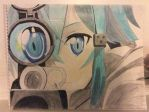 Sinon redrawn by jlee981030