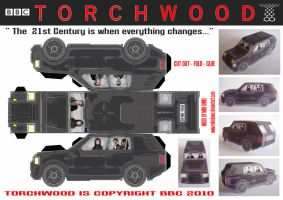 Torchwood - SUV by mikedaws