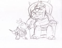 Father's Day with Bowser Jr. by locomotive111