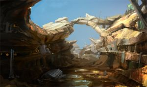 Canyon by graphmac