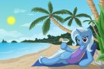 Trixie At The Beach by template93