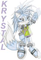 Young Teen Krystal by DragonQuestHero