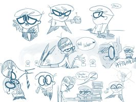 sketches1 by albadune