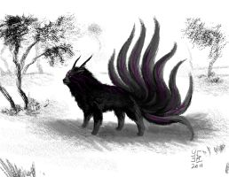 Lone-ly- Wolf by Ultyzarus