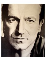 Bono by graphiteartist