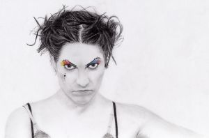 sketch of Amanda Palmer by beckenslobber