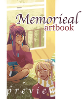 MEMORIEAL artbook preview by caephuier