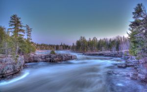 HDR Pabineau Falls by PascalsPhotography