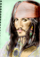 Captain Jack Sparrow by bec1989