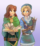 Collab - Dove and Emma by ChocolaPeanut