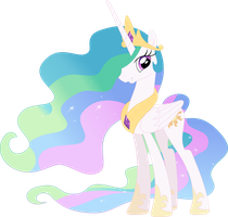 The alicorn of sunshine by Porygon2z