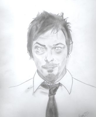 Norman Reedus by Rizza-Blurian