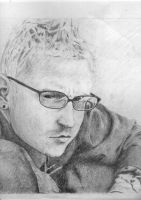 Chester Bennington by MiKeY08