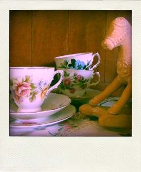 teacups and a pony. by alannah-the-pirate
