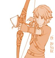 Link Sketch by Enigma-XIII
