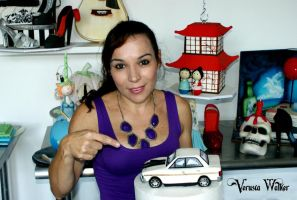 3D Car Cake Ford 351-GT by Verusca