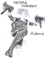 WIP - Alice RE4 in Pencil by andrephmcr