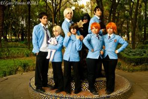 Ouran by maskplayers-group-mx