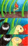 Scary Encounters by waterdrup