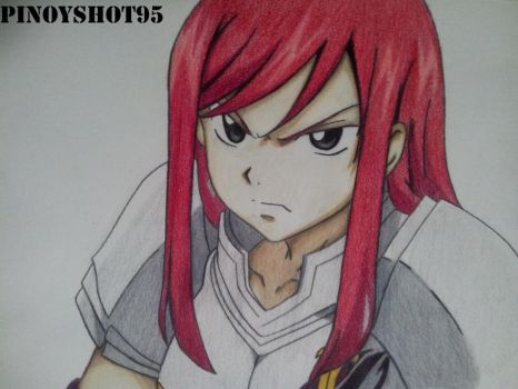 Erza Scarlet from Fairy Tail by Pinoyshot95