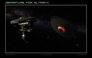 Departure for Altair-4 by dragonpyper