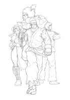 Street Fighter 3 by E-V-IL