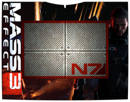 Mass Effect 3 Graphire 3 Cover by acdramon