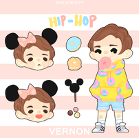 Vernon Stickers by Lolibeat