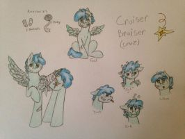 Cruiser Bruiser Reference Sheet by TheodoraBMisfit