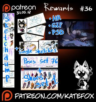 Patreon rewards #36 by Kate-FoX