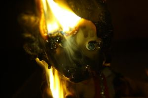 burning doll6 by Evel88