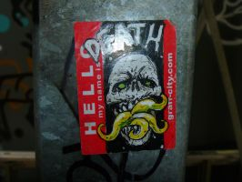 Death Sticker by chaingunchimp