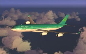 Aer Lingus A340-300 In Flight 2 by B737TheAirliner
