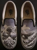 great wave shoes by edworkin
