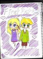 Link and Tetra -First Date- by AmmyKaabiiPupupu
