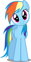 Vector #76 - Rainbow Dash #13 by DashieSparkle