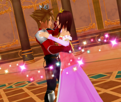 KH MMD - A Princess and her Prince by todsen19