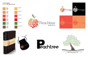 Peachtree Books Logo Redesign by Kornari