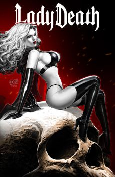 Lady Death Cover 1 by DNA-1