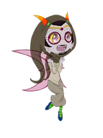 HS Beta God Tier: Feferi [Cel] by SanchaySquirrel
