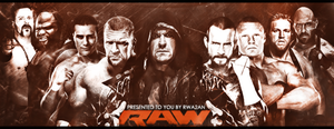 RAW Banner 2013 by RaTeD-Gfx