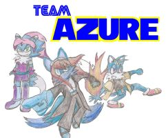 Team Azure by RobeyRetro