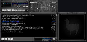 Default Winamp Skin Grey  Blue White By Emiledesma by EmiLEDESMArg