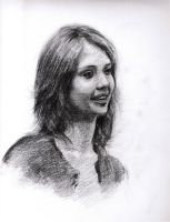 3rd Portrait of Jessica Alba by cheatingly