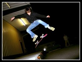 Skateboarding 9 by LunchBoxN1NJ4