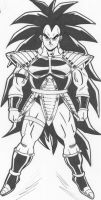 Raditz by guerotheartist