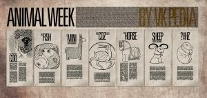animal week poster by sounddecor