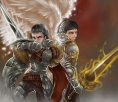 Medieval Warriors by YunaXD