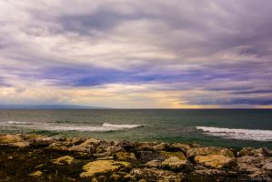 Beautiful color at sea by Luks85