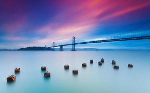 Beautiful morning | Bay Bridge, San Francisco by TahaElraaid